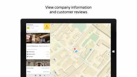 Captura de Pantalla 10 de Yandex.Maps para windows