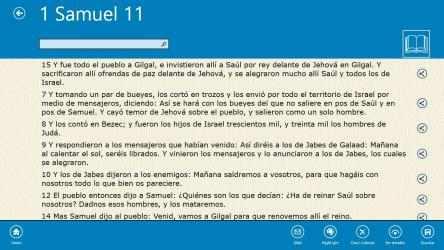 Captura 10 de La Santa Biblia (The Bible in Spanish) para windows