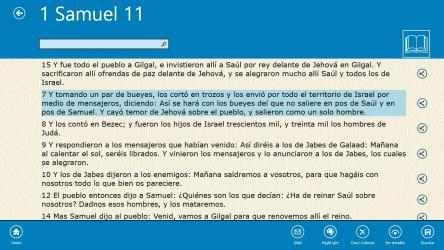 Captura de Pantalla 11 de La Santa Biblia (The Bible in Spanish) para windows