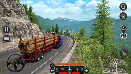 Screenshot 3 de Camión pesado mundial: nuevos juegos de camiones para android
