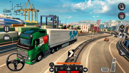 Captura de Pantalla 7 de Camión pesado mundial: nuevos juegos de camiones para android