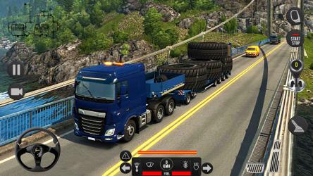 Captura de Pantalla 11 de Camión pesado mundial: nuevos juegos de camiones para android
