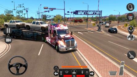 Screenshot 10 de Camión pesado mundial: nuevos juegos de camiones para android
