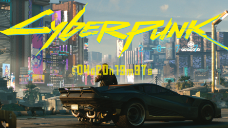 Screenshot 3 de Cyberpunk 2077 Countdown para android