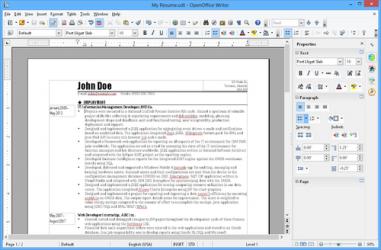 Imágen 6 de OpenOffice para windows