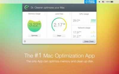 Captura 1 de Dr. Cleaner para mac