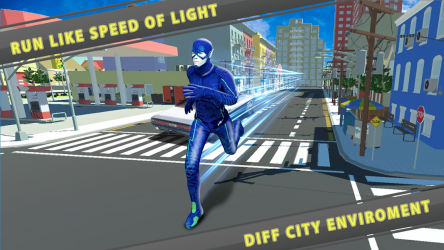 Imágen 2 de flash superhero vs crime mafia vegas city para android