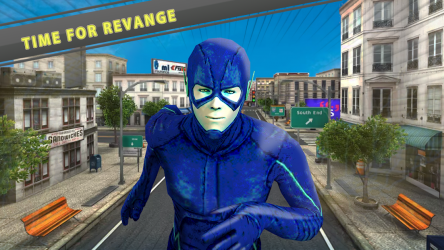 Captura 10 de flash superhero vs crime mafia vegas city para android