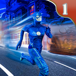Captura 1 de flash superhero vs crime mafia vegas city para android