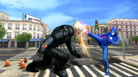 Screenshot 4 de flash superhero vs crime mafia vegas city para android
