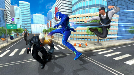 Captura de Pantalla 3 de flash superhero vs crime mafia vegas city para android