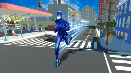 Captura 7 de flash superhero vs crime mafia vegas city para android