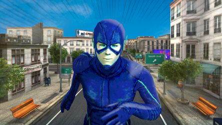 Captura 5 de flash superhero vs crime mafia vegas city para android