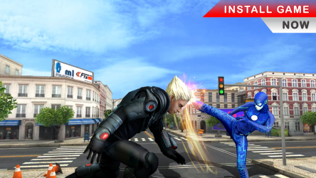 Captura 6 de flash superhero vs crime mafia vegas city para android
