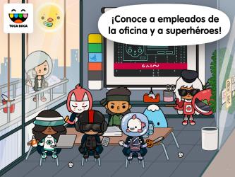 Captura de Pantalla 5 de Vida Toca: Oficina para android