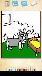 Screenshot 3 de Colorear animales de la granja: Juegos educativos para windows