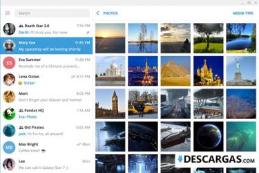 Captura de Pantalla 3 de Telegram para PC para windows