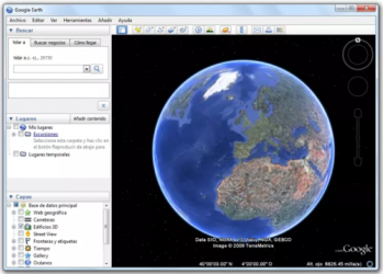 Captura de Pantalla 2 de Google Earth para windows