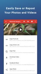 Screenshot 5 de Friendly Social Browser para android