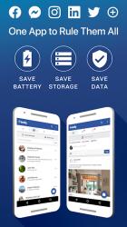 Screenshot 2 de Friendly Social Browser para android