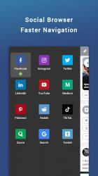 Captura de Pantalla 3 de Friendly Social Browser para android