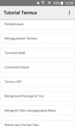 Captura de Pantalla 10 de Tutorial Termux Bahasa Indonesia para android