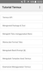 Captura 9 de Tutorial Termux Bahasa Indonesia para android