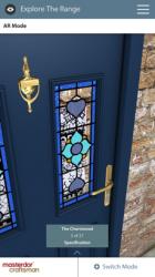 Screenshot 2 de Craftsman AR Door Designer para iphone