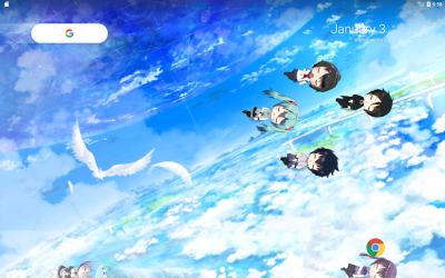 Captura de Pantalla 11 de Lively Anime Live Wallpaper para android