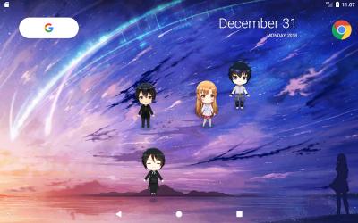 Captura 7 de Lively Anime Live Wallpaper para android