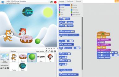 Captura 1 de Scratch para windows