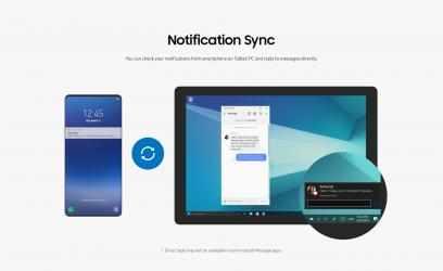 Captura 1 de Samsung Flow para windows