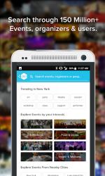 Captura de Pantalla 7 de All Events in City - Discover Events On The GO para android