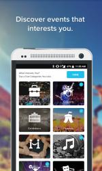 Captura de Pantalla 3 de All Events in City - Discover Events On The GO para android