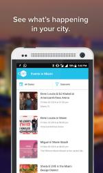 Captura de Pantalla 2 de All Events in City - Discover Events On The GO para android