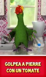 Captura de Pantalla 4 de Talking Pierre para android
