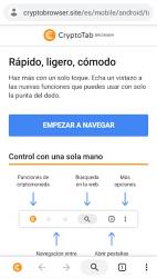 Captura de Pantalla 7 de CryptoTab Browser Pro—haz minería a nivel PRO para android