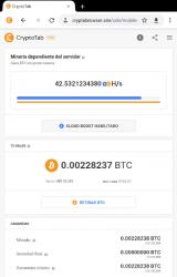 Imágen 8 de CryptoTab Browser Pro—haz minería a nivel PRO para android