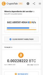 Imágen 2 de CryptoTab Browser Pro—haz minería a nivel PRO para android