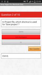 Screenshot 5 de Free Sony Vegas Pro Shortcuts para android