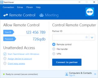 Screenshot 2 de Team viewer para windows