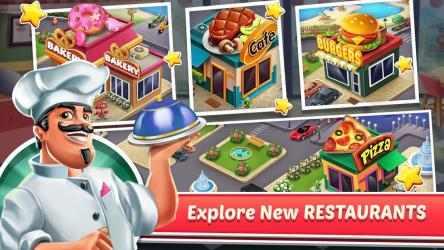 Captura de Pantalla 6 de Cooking Shop : Chef Restaurant Cooking Games 2020 para android