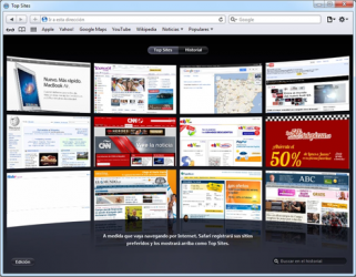 Captura de Pantalla 3 de Safari para windows