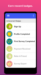 Captura de Pantalla 11 de Prediqt - Encuestas Fáciles - Gane Dinero Ya! para android