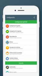 Screenshot 5 de Control de gastos y dinero para iphone
