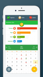 Captura de Pantalla 1 de Control de gastos y dinero para iphone