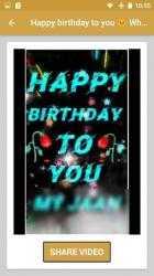 Screenshot 7 de Canciones Feliz Cumpleaños 🎉🎵🍰🎁 para android