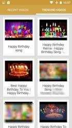 Screenshot 3 de Canciones Feliz Cumpleaños 🎉🎵🍰🎁 para android