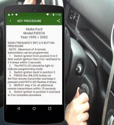 Captura de Pantalla 5 de Key Programming Procedure para android