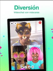Screenshot 9 de Messenger Kids – La app de mensajes para niños para android